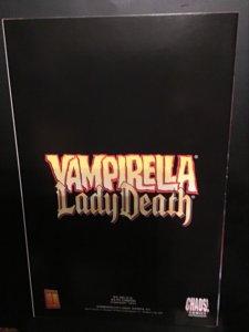 Vampirella / Lady Death #1 (1999)key crossover issue. Super-High grade. NM Wow!