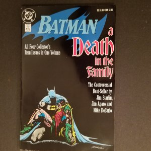 Batman A Death in the Family 1st Printing - March 1988