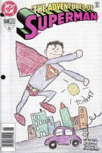 Adventures of Superman (1987 series) #558, NM (Stock photo)