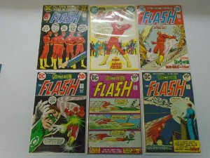 Bronze age Flash comic lot 12 diff 20c covers #217-231 avg 5.0 VG FN (1972-75)