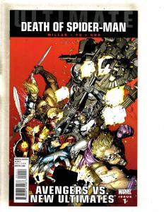 11 Comics Ultimate Death Of Spider-Man 1 2 3 4 5 6 Ultimates 1 War 1 2 3 4 CJ9