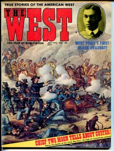 The West 7/1972-Stagecoach-Custer's Last Stand-Henry Flipper-VG/FN