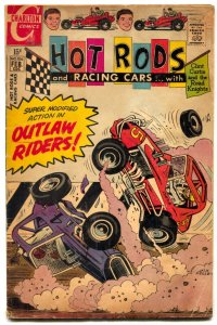 Hot Rods and Racing Cars #106 1970- Charlton Comics VG