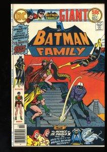 Batman Family #7 VF+ 8.5