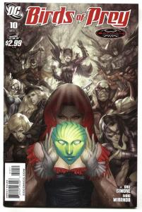 Birds of Prey #10 2011 Artgerm cover art DC NM-