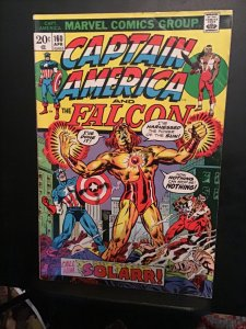 Captain America #160 (1973) mid high grade Solarr 1st appearance key! FN/VF