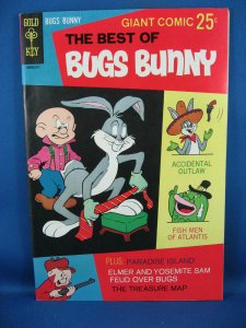 BEST OF BUGS BUNNY 2 NM File Copy 1968 Sharp! Gold Key Giant.