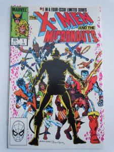 The X-Men and The Micronauts #1 (1984)
