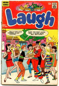 Laugh Comics #188 1966- Archie- Betty- Veronica Psychedelic fashions VG-