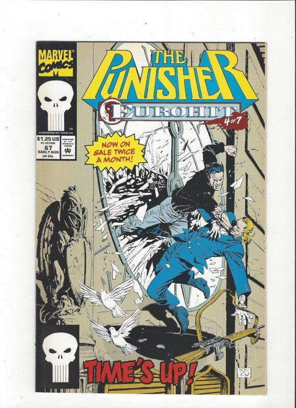 The Punisher #67 (1987)  Eurohit 4 of 7 Marvel Comics NM