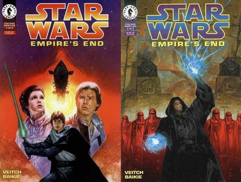 STAR WARS EMPIRES END (1995 DH) 1-2 COMICS BOOK