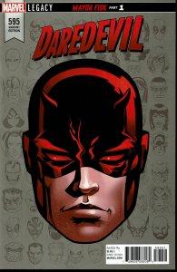 Daredevil #595 - NM - 1:10 Retailer Incentive