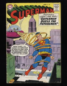 Superman #128 GD- 1.8