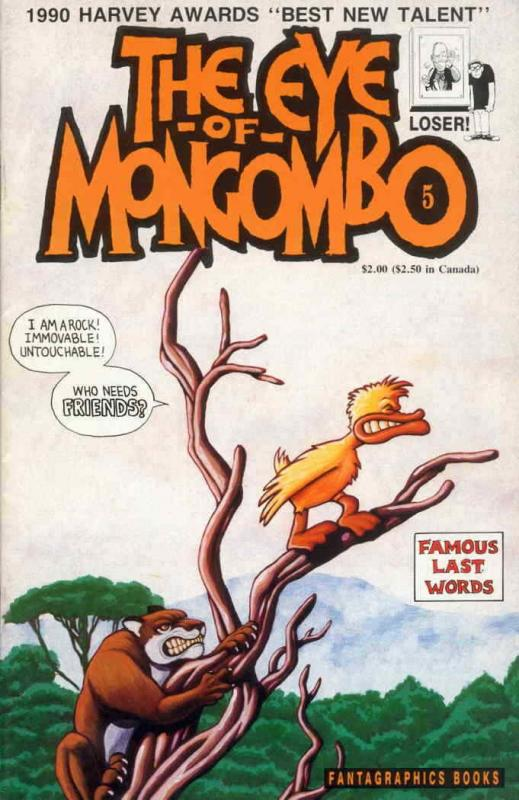 Eye of Mongombo #5 VF/NM; Fantagraphics | save on shipping - details inside