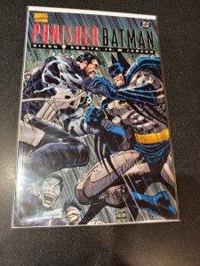 Punisher Batman Deadly Knights 1 Marvel DC 1994 VF NM John Romita Chuck Dixon