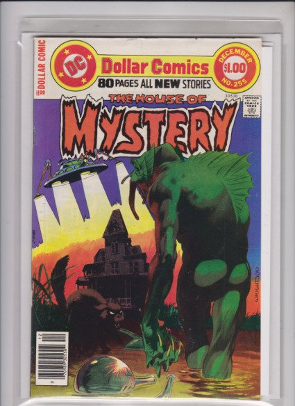 THE HOUSE OF MYSTERY # 255 DC / NEWSSTAND  /MED+  QUALITY