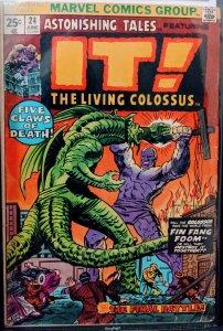 Astonishing Tales #24 (1974) FIN FANG FOOM! F