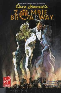 Zombie Broadway #1 VF/NM; Virgin | save on shipping - details inside