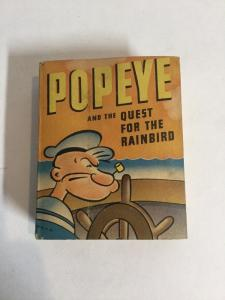 Popeye And The Quest For The Rainbird Vf Very Fine Big Little Book 1459