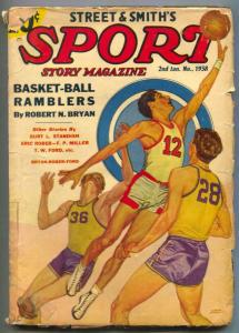 Sport Story Pulp 2nd January 1938- Basket-ball Ramblers G+