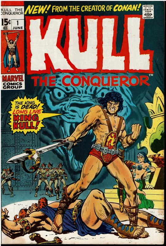 Kull The Conqueror #1, *KEY*, 6.0 or better