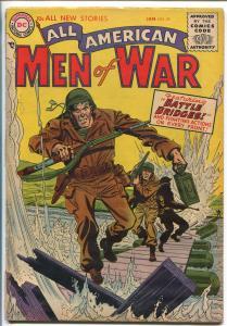 ALL AMERICAN MEN OF WAR #29-1955-WWII-DC-SILVER AGE-WALLY WOOD-JOE KUBERT-vg