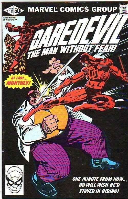 Daredevil #171 (Jun-81) VF/NM- High-Grade Daredevil