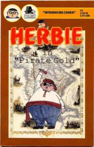 Herbie (1990 series) #3, Fine- (Stock photo)