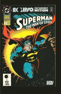 DC Comics Superman: The Man of Steel Annual #1 (1992)