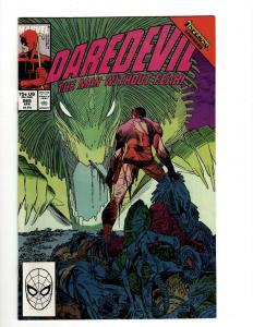 Lot of 12 Daredevil Comics #265 266 267 268 269 270 271 272 273 274 275 276 GK14