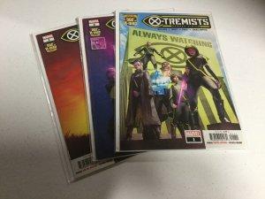 X-tremists 1 2 3 Nm Near Mint Marvel Comics