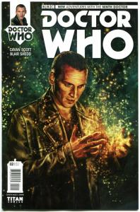 DOCTOR WHO #2 A, NM, 9th, Tardis, 2015, Titan, 1st, more DW in store, Sci-fi