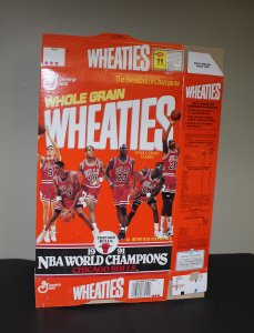 Chicago Bulls Wheaties Box / 1991