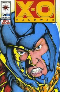 X-O Manowar #24 VF/NM; Valiant   save on shipping - details inside