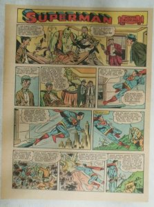 Superman Sunday Page #916 by Wayne Boring from 5/19/1957 Size ~11 x 15 inches