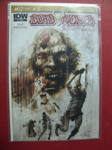 DEAD WORLD WAR OF THE DEAD #2 OF 5    (9.0 to 9.4 or better)  IDW
