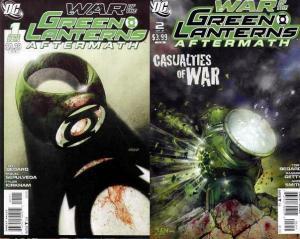WAR OF THE GREEN LANTERNS AFTERMATH (2011) 1A-2A