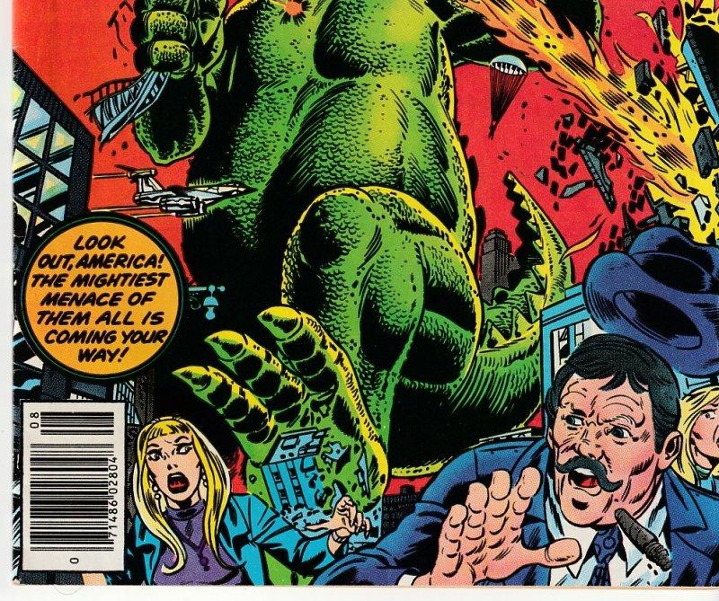 Godzilla(Marvel) # 1   Godzilla vs Shield !
