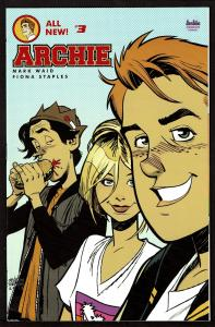 Archie All New #3 (2nd series)  9.2 NM-