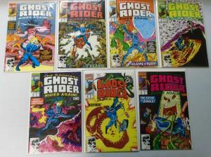 Ghost Rider Rides Again Comic Lot, Set:#1-7, 8.0/VF (1991)