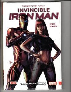 Invincible Iron Man Vol. # 2 War Mach Marvel HARDCOVER SEALED Graphic Novel J299