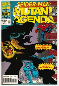 Spider-Man Mutant Agenda #3 X-Men / Hobgoblin (Marvel, 1994) VF/NM