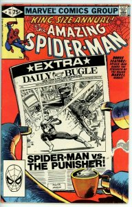 Amazing Spider Man Annual #15 (1963) - 6.5 FN+ *Classic Miller Punisher Cover*