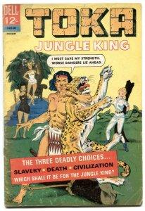 Toka Jungle King #6 1965- Dell comics VG