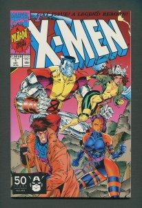 X-Men #1  (Colossus,Gambit Variant)  / 9.4 NM - 9.6 NM+ / October 1991