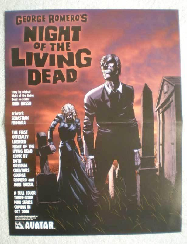 GEORGE ROMERO, NIGHT OF THE LIVING DEAD Promo Poster, more in our store