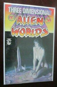 Three Dimensional Alien Worlds #1 8.0 VF (1984) 3D