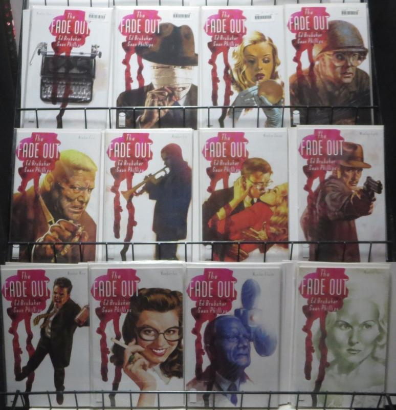 THE FADE OUT (Image, 2014) #1-12 COMPLETE!Brubaker and Phillips Noir Masterpiece