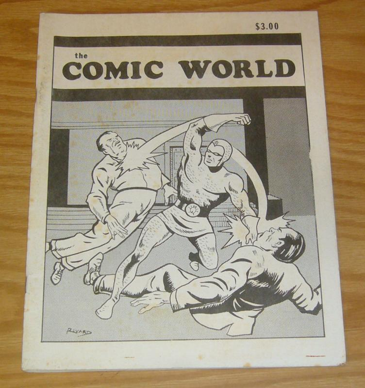 the Comic World #18 FN blue beetle - fanzine 1978 - bronze age rare - 74 pages