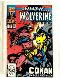 Lot of 12 What If... Marvel Comic Books #16 17 23 25 26 29 30 32 34 35 36 38 EK5